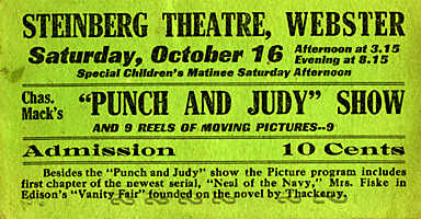 Punch & Judy Show 10¢
